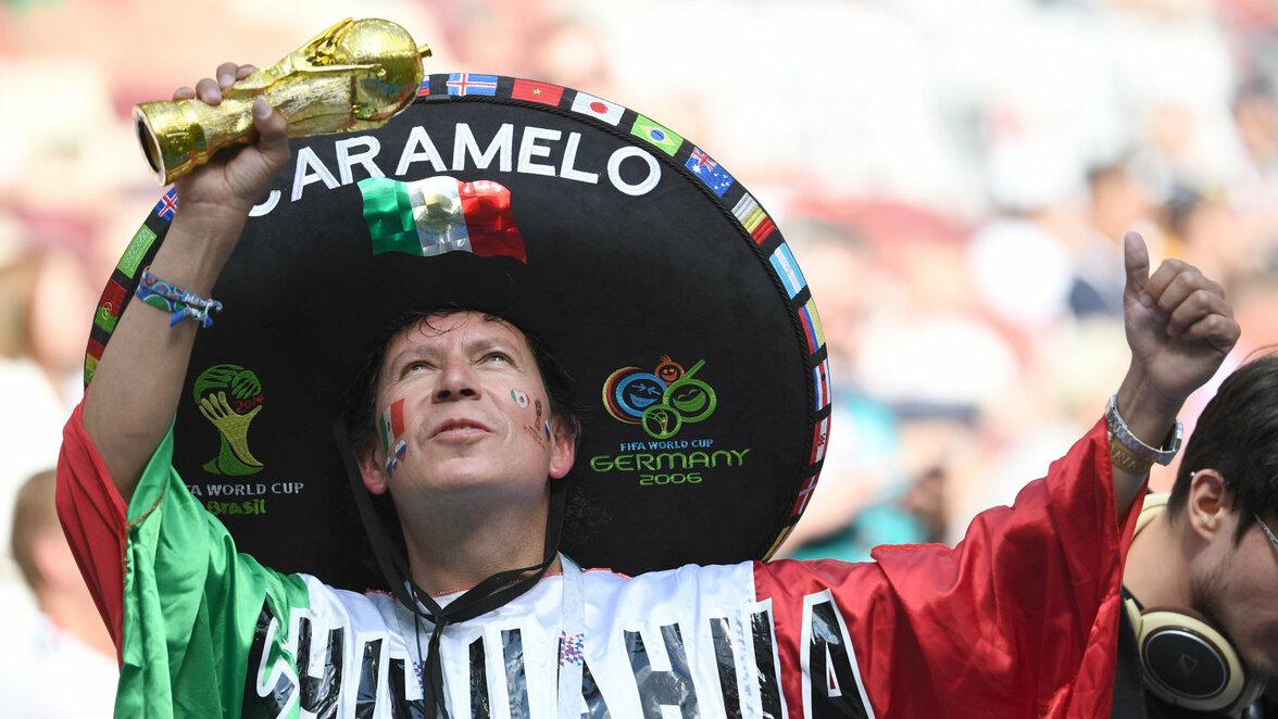 Spielbeginn Deutschland Mexiko