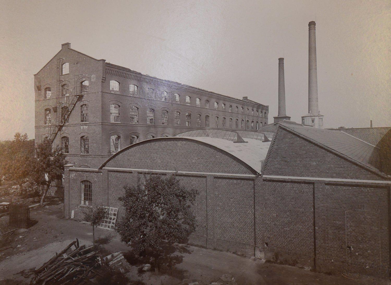 5 Minuten Heimatgeschichte: Der Großbrand von 1898 in der Tuchfabrik Koswig - Lausitzer Rundschau