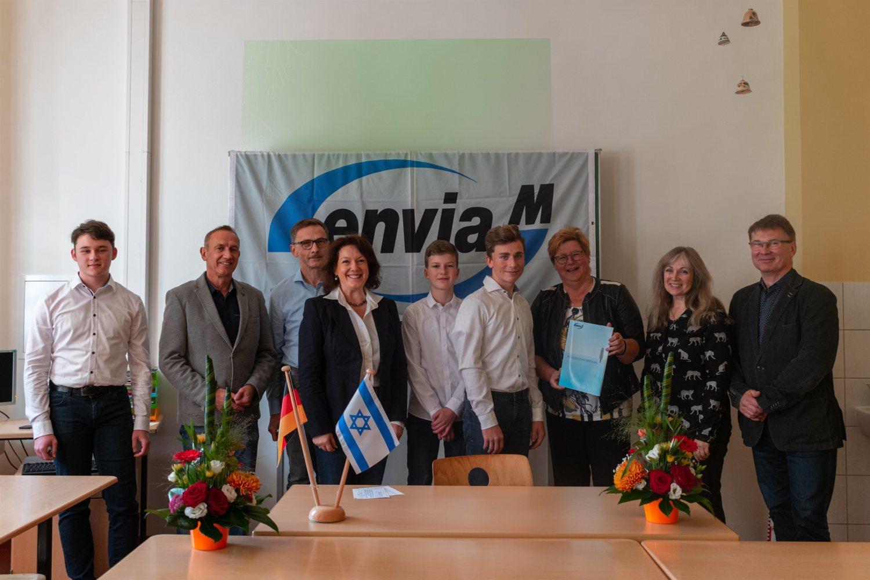Austausch über Ländergrenzen: Schüler aus Elsterwerda fliegen nach Israel - Lausitzer Rundschau