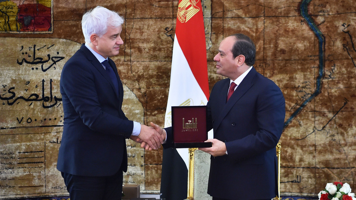 präsident von ägypten
