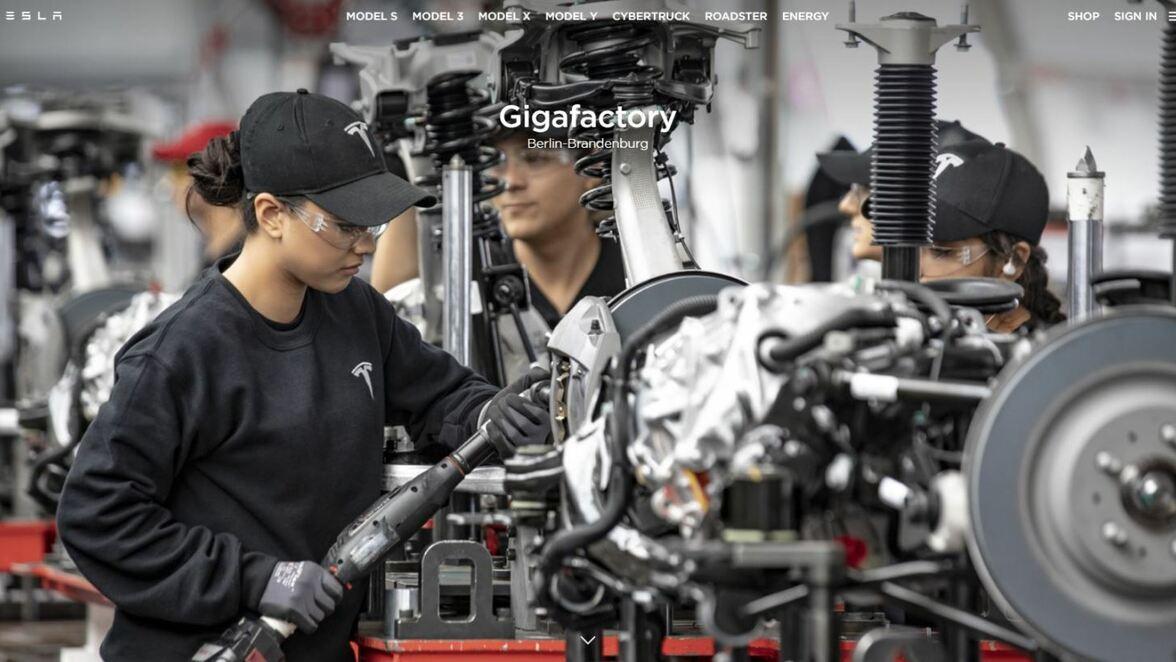 Tesla Fabrik Grunheide So Kriegen Sie Einen