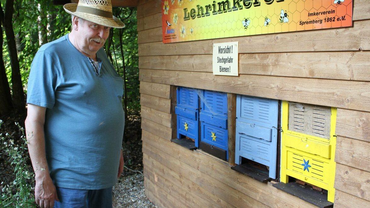 Spremberger Imker ist fasziniert von Bienen