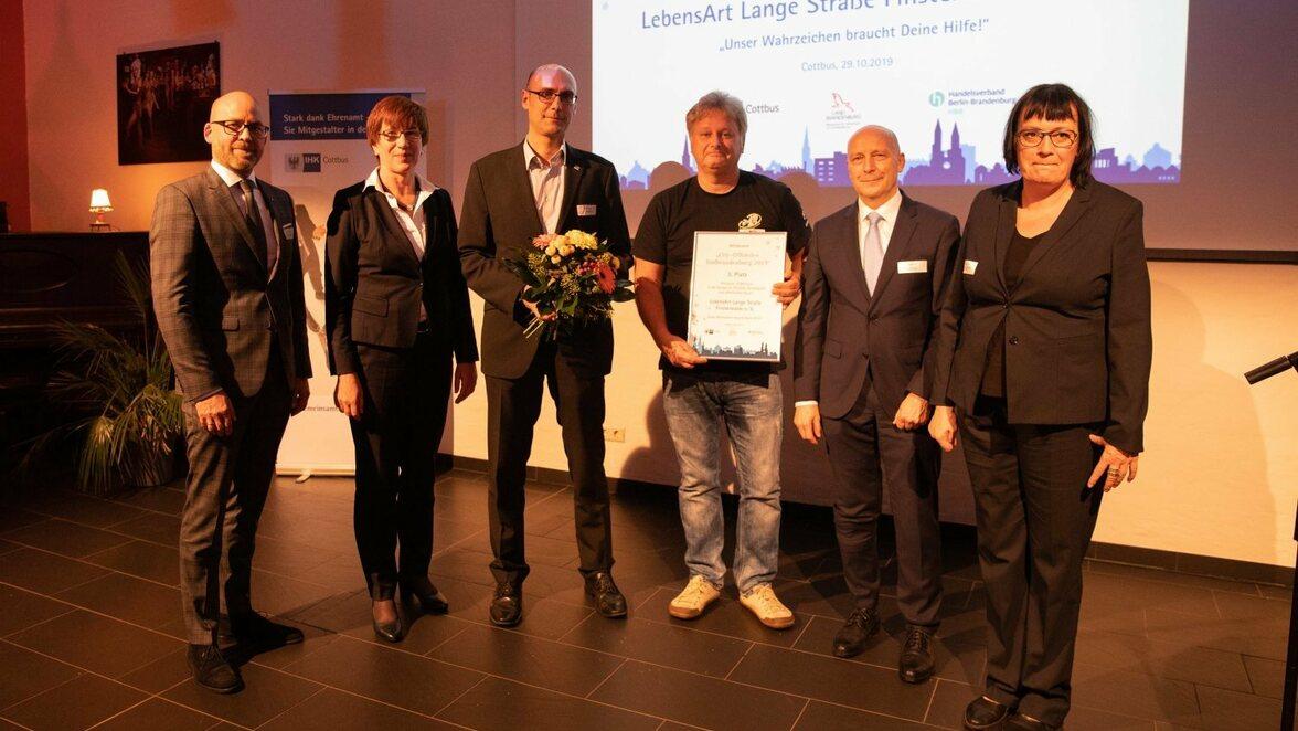 City Offensive kommt auch in Elbe Elster an 5000 Euro für Gewerbeverein Bad Liebenwerda ...